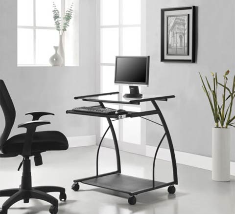 Making the most of a small office k mark - Space saving office furniture ...