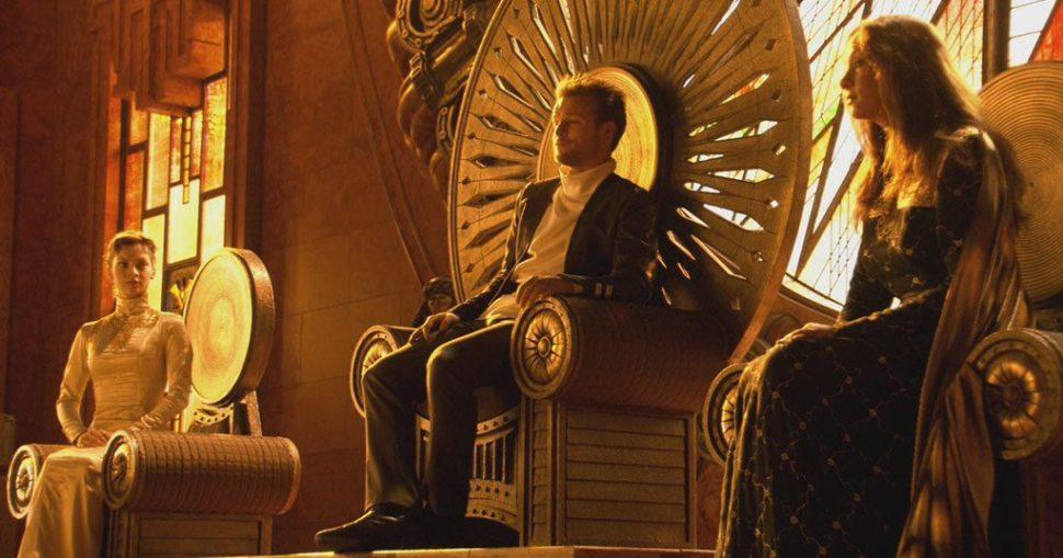 Golden Lion Throne