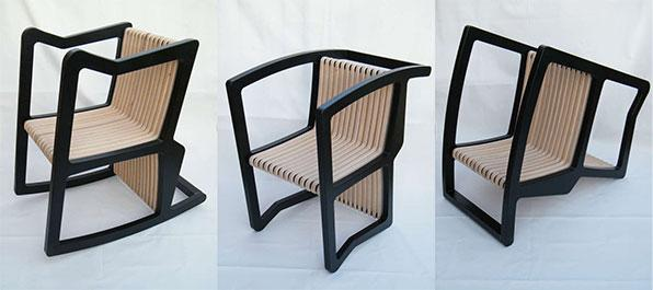 The 4-in-1 chair by Itay Kirshenbaum