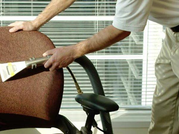 office chair fabric cleaning