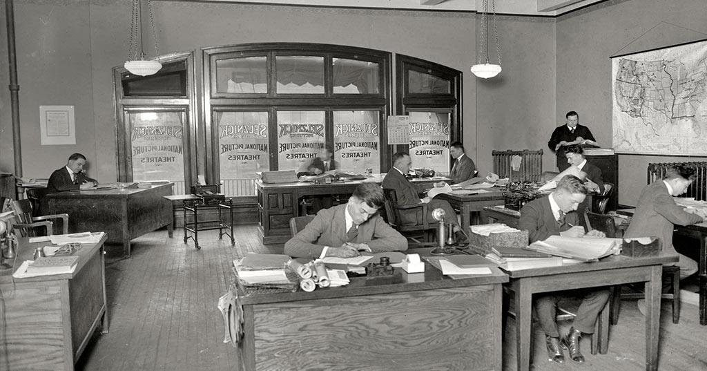 1920s office trend