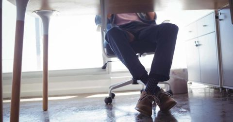 office chair sinking