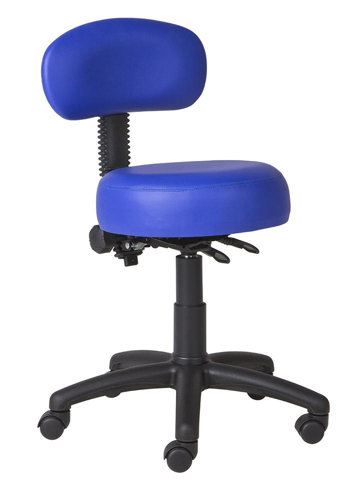 blue dental chair