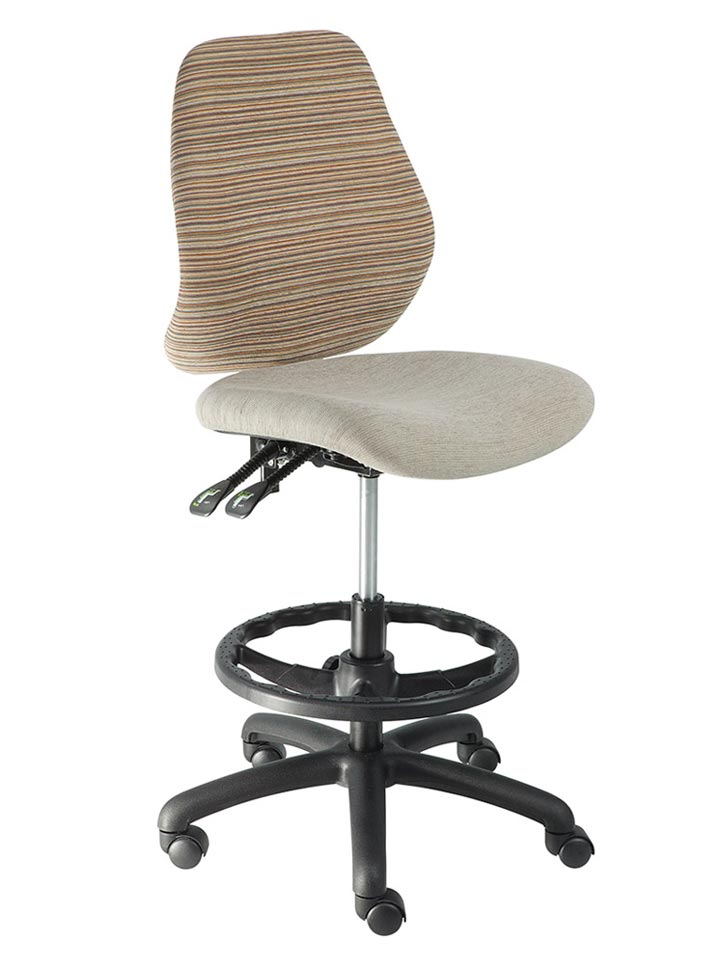 Draughtsman chairs for sale by KMark typist chair