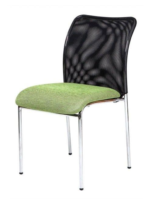 Modena stackable chair in green