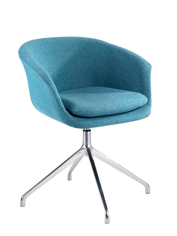 blue soft office chair