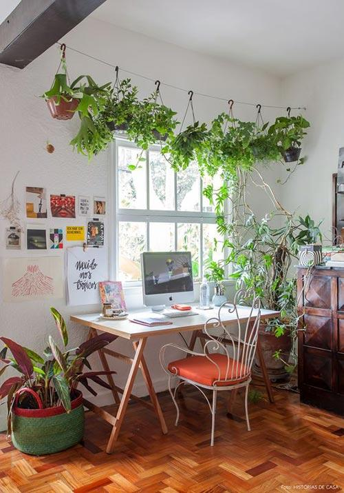 home office greenhouse