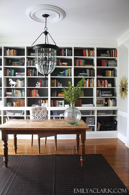 home office library