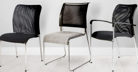 elegant stackable chairs